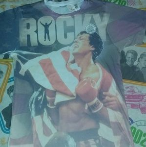 2013 ROCKY All Over Shirt Sylvester Stallone